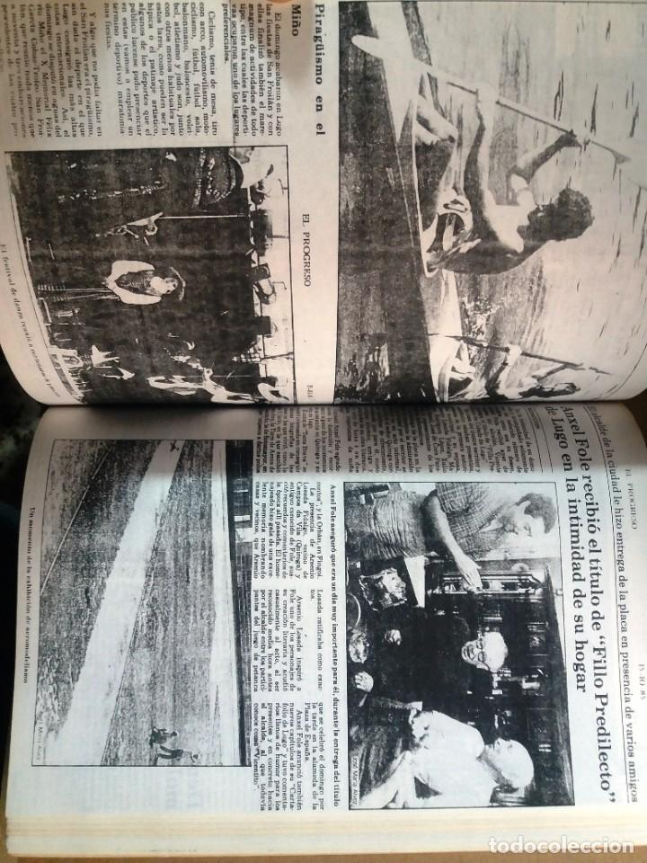 Libros de segunda mano: LUGO GALICIA SAN FROILAN 85 RECOPILATORIO DE PRENSA ESCRITA (VER FOTOS) - Foto 5 - 287266308