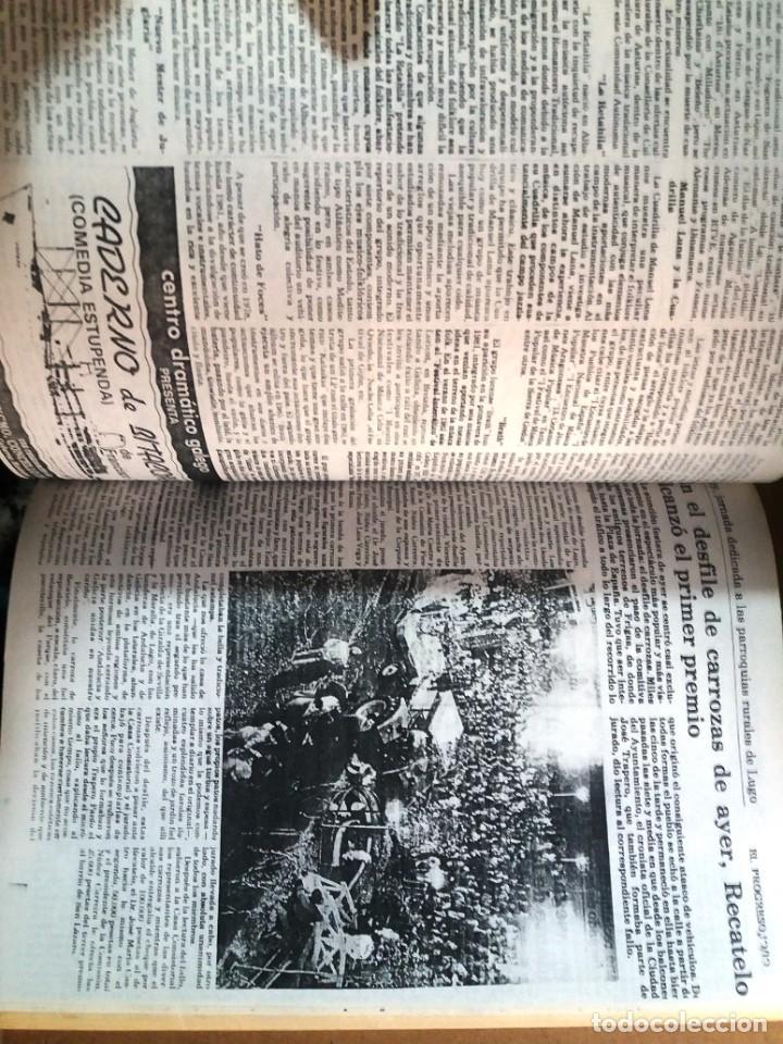 Libros de segunda mano: LUGO GALICIA SAN FROILAN 85 RECOPILATORIO DE PRENSA ESCRITA (VER FOTOS) - Foto 7 - 287266308