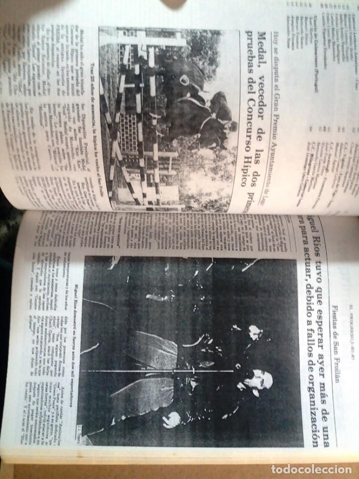 Libros de segunda mano: LUGO GALICIA SAN FROILAN 85 RECOPILATORIO DE PRENSA ESCRITA (VER FOTOS) - Foto 8 - 287266308