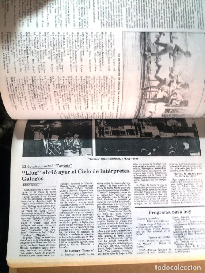 Libros de segunda mano: LUGO GALICIA SAN FROILAN 85 RECOPILATORIO DE PRENSA ESCRITA (VER FOTOS) - Foto 9 - 287266308