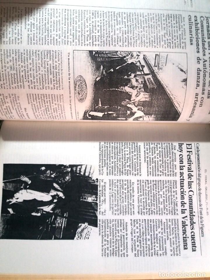 Libros de segunda mano: LUGO GALICIA SAN FROILAN 85 RECOPILATORIO DE PRENSA ESCRITA (VER FOTOS) - Foto 10 - 287266308