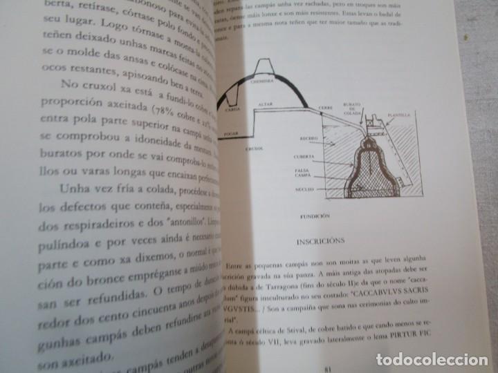 Libros de segunda mano: GALICIA, CAMPANAS - OS SINOS DOS TEMPOS CAMPAS DE VIGO - XERARDO DASAIRAS - AYTO 1995 127pag + INFO - Foto 4 - 287341073