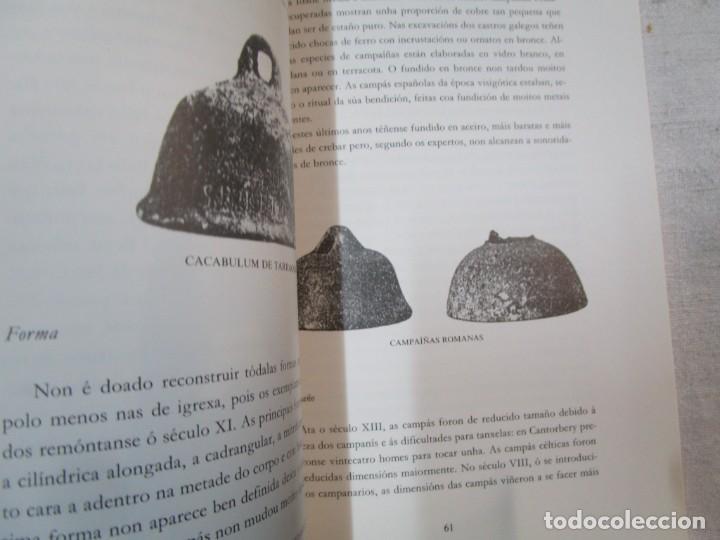 Libros de segunda mano: GALICIA, CAMPANAS - OS SINOS DOS TEMPOS CAMPAS DE VIGO - XERARDO DASAIRAS - AYTO 1995 127pag + INFO - Foto 6 - 287341073
