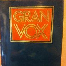 Livres d'occasion: GRAN VOX. DICCIONARIO DE MUSICA. BIBLIOGRAF. SEGUNDA EDICION OCTUBRE 1995.. Lote 287408483
