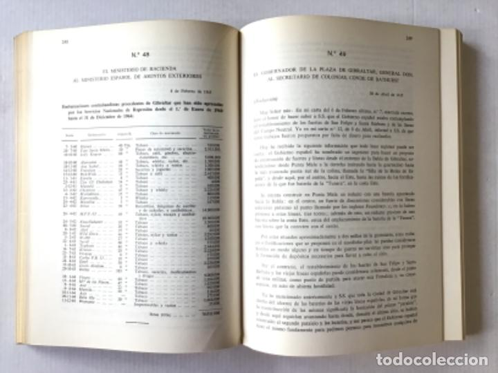 Libros de segunda mano: DOCUMENTOS SOBRE GIBRALTAR PRESENTADOS A LAS CORTES ESPAÑOLAS POR EL MINISTRO DE ASUNTOS EXTERIORES. - Foto 5 - 287420213