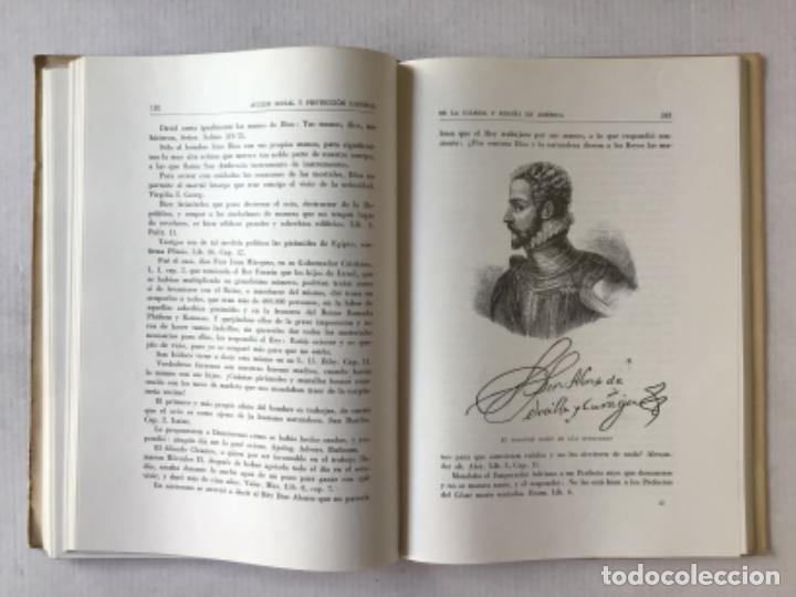 Libros de segunda mano: ACCION SOCIAL Y PROTECCION LABORAL DE LA IGLESIA Y ESPAÑA EN AMÉRICA. 1492-1892. - EYRÉ L. DABRAL, - Foto 3 - 287450228