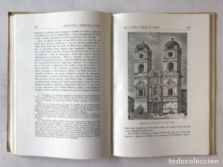 Libros de segunda mano: ACCION SOCIAL Y PROTECCION LABORAL DE LA IGLESIA Y ESPAÑA EN AMÉRICA. 1492-1892. - EYRÉ L. DABRAL, - Foto 4 - 287450228