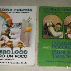 Libros de segunda mano: LOTE GLORIA FUERTES - ILUSTRACIONES DE ULISES WENSELL - EDITORIAL ESCUELA ESPAÑOLA S.A.. Lote 287486678