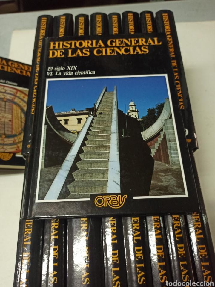 Libros de segunda mano: TATOM, René (director) HISTORIA GENERAL DE LAS CIENCIAS. 18 TOMOS (OBRA COMPLETA). - Foto 4 - 287538903