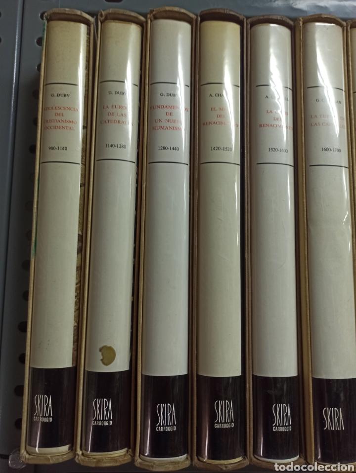 Libros de segunda mano: COLECCIÓN 10 VOLS. ARTE IDEAS HISTORIA 980-1945 (ALBERT SKIRA/CARROGGIO. GEORGE DUBY, CHASTEL... - Foto 2 - 287647923