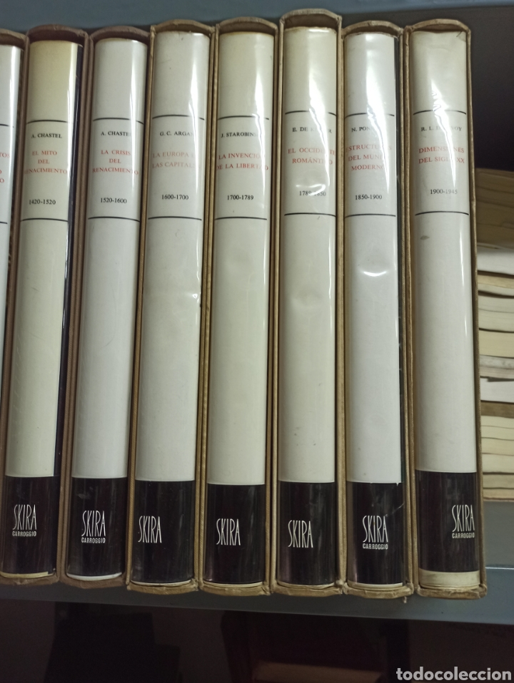Libros de segunda mano: COLECCIÓN 10 VOLS. ARTE IDEAS HISTORIA 980-1945 (ALBERT SKIRA/CARROGGIO. GEORGE DUBY, CHASTEL... - Foto 4 - 287647923
