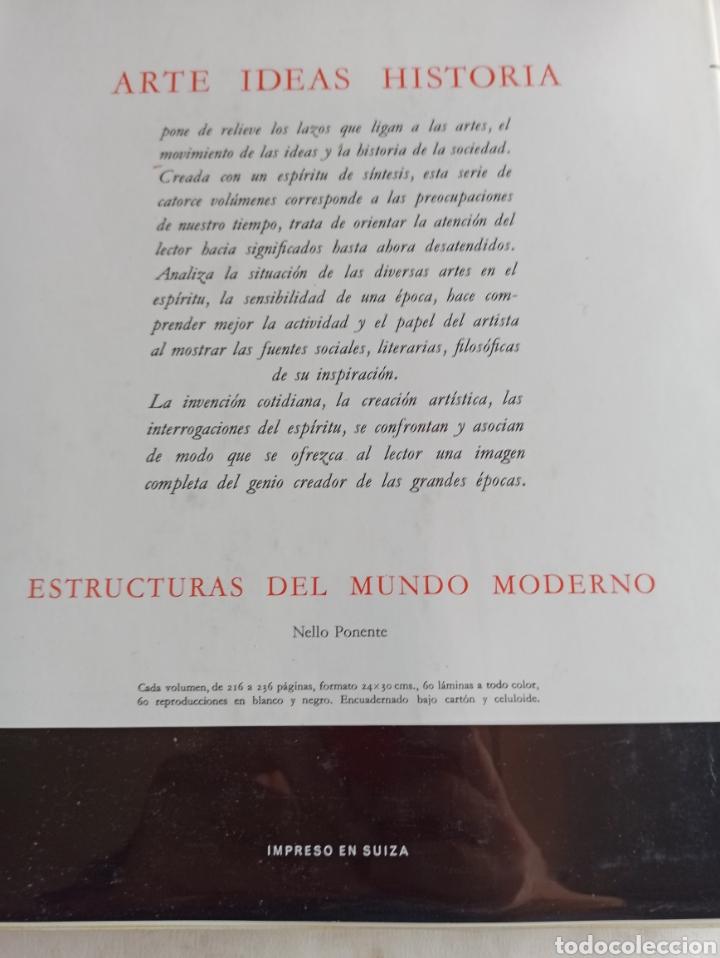 Libros de segunda mano: COLECCIÓN 10 VOLS. ARTE IDEAS HISTORIA 980-1945 (ALBERT SKIRA/CARROGGIO. GEORGE DUBY, CHASTEL... - Foto 33 - 287647923