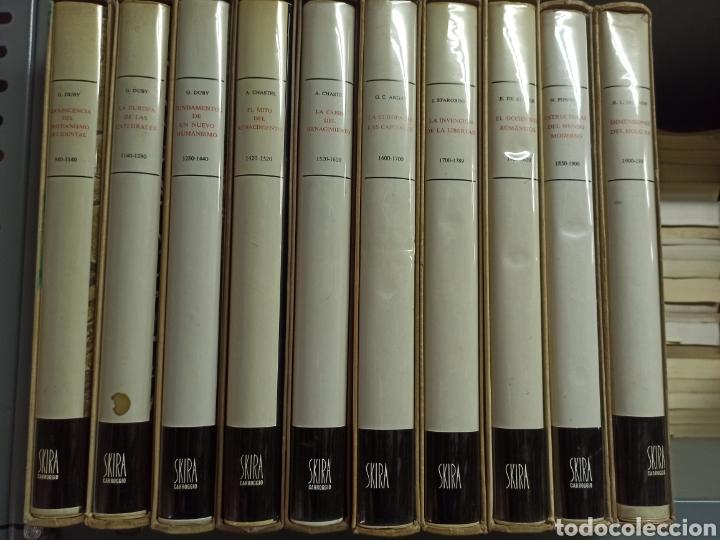 COLECCIÓN 10 VOLS. ARTE IDEAS HISTORIA 980-1945 (ALBERT SKIRA/CARROGGIO. GEORGE DUBY, CHASTEL... (Libros de Segunda Mano - Bellas artes, ocio y coleccionismo - Otros)