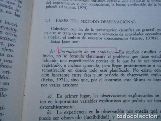 Libros de segunda mano: Metodología de la observación en las ciencias humanas Cátedra - Foto 2 - 287692423