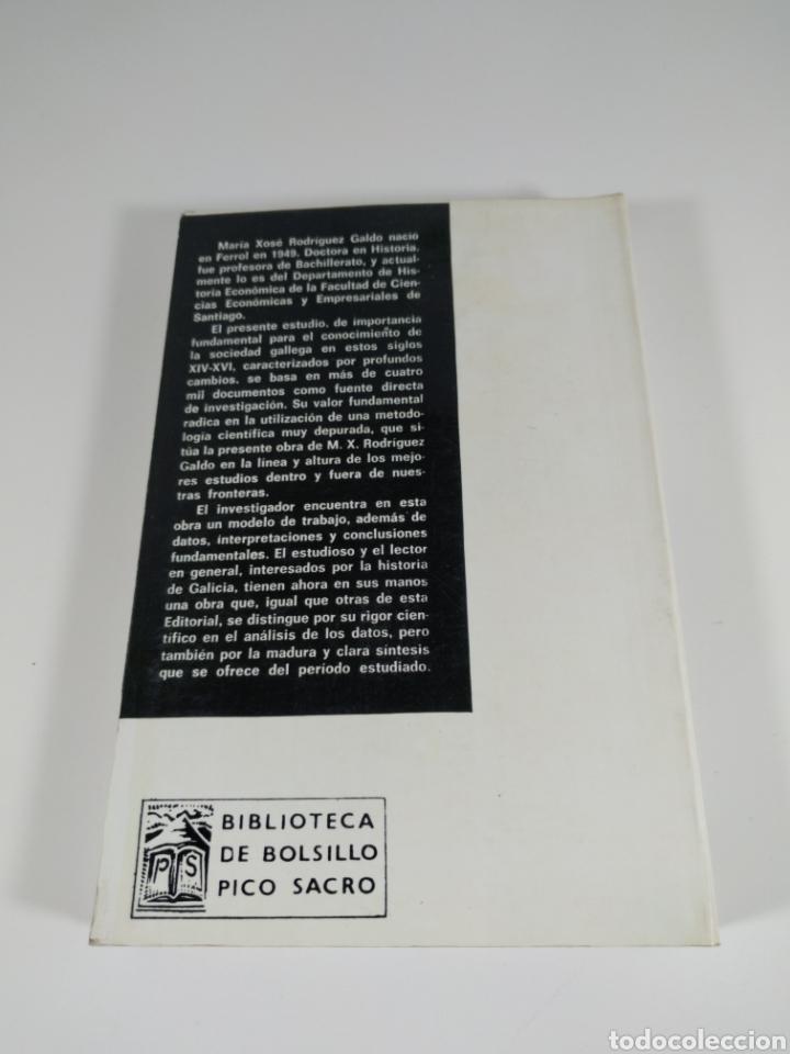 Libros de segunda mano: Señores y campesinos en Galicia. Siglos xiv-xvi. María Xose Rodríguez Galdo. Pico sacro. - Foto 3 - 287704963