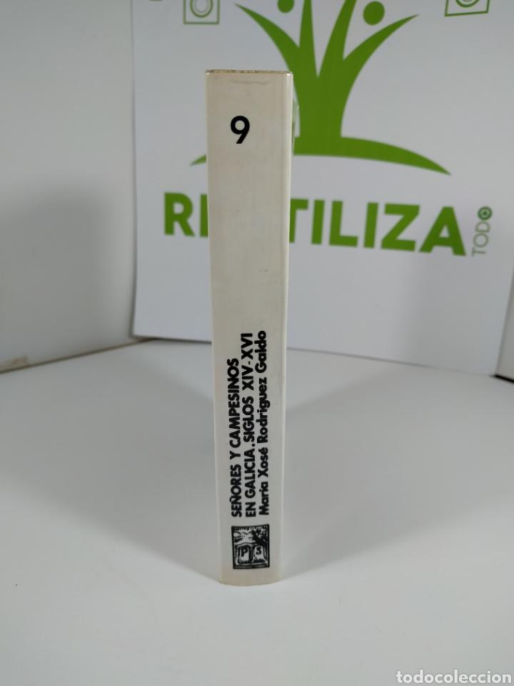 Libros de segunda mano: Señores y campesinos en Galicia. Siglos xiv-xvi. María Xose Rodríguez Galdo. Pico sacro. - Foto 4 - 287704963
