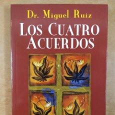 Libros de segunda mano: LOS CUATRO ACUERDOS. UN LIBRO DE SABIDURIA TOLTECA / MIGUEL RUIZ / 2011. URANO. Lote 287843493