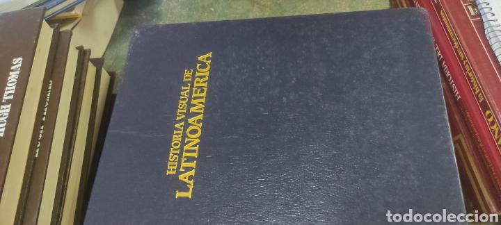 Libros de segunda mano: HISTORIA VISUAL DE LATINOAMERICA - ED. CASTELL 1991. 6 tomos completa - Foto 2 - 287866808