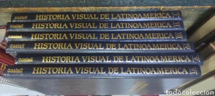 HISTORIA VISUAL DE LATINOAMERICA - ED. CASTELL 1991. 6 TOMOS COMPLETA (Libros de Segunda Mano - Historia - Otros)