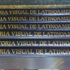 Libros de segunda mano: HISTORIA VISUAL DE LATINOAMERICA - ED. CASTELL 1991. 6 TOMOS COMPLETA. Lote 287866808
