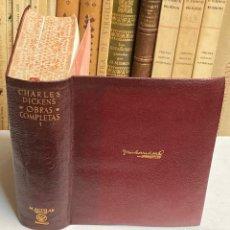 Libros de segunda mano: AÑO 1948 - CHARLES DICKENS OBRAS COMPLETAS TOMO I - AGUILAR OBRAS ETERNAS. Lote 287903183