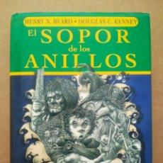 Libros de segunda mano: EL SOPOR DE LOS ANILLOS, POR HENRY N. BEARD Y DOUGLAS C. KENNEDY (DEVIR). EL SEÑOR DE LOS ANILLOS.. Lote 287916358
