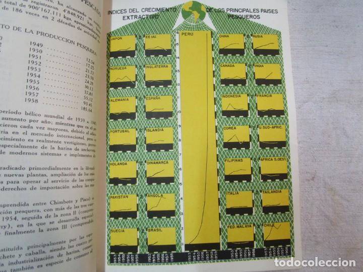 Libros de segunda mano: PERU 1959 PESCA - ESTADISTICA ECONOMICA DE LA INDUSTRIA PESQUERA - JAVIER IPARRAGUIRRE. + INFO - Foto 6 - 287953798