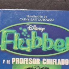 Libros de segunda mano: PRECIOSO LIBRO DE CATHY EAST DUBOWSKI. FLUBBER Y EL PROFESOR CHIFLADO. DISNEY. CIRCULO DE LECTORES.. Lote 287965493