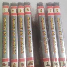 Libros de segunda mano: HISTORIA DE ESPAÑA EN FORMATO CÓMIC. ROASA. 8TOMOS. PLASTIFICADOS. Lote 287989753