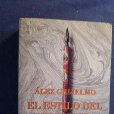 Libros de segunda mano: ALEX GRIJELMO: -EL ESTILO DEL PERIODISTA - (MADRID,1997). Lote 288011578