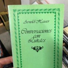 Libros de segunda mano: ARNOLD HAUSER - CONVERSACIONES CON LUKÁCS. Lote 288051228