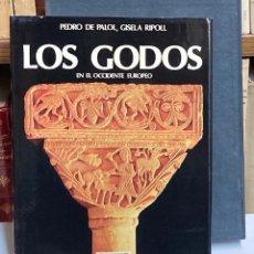 Libros de segunda mano: AÑO 1988 - LOS GODOS EN EL OCCIDENTE EUROPEO - OSTROGODOS Y VISIGODOS SIGLOS V-VIII - PALOL Y RIPOLL. Lote 288066483
