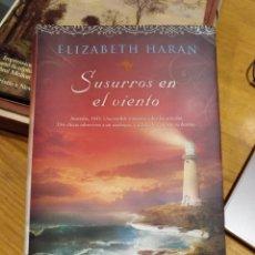 Libros de segunda mano: ELIZABETH HARAN, SUSURROS EN EL VIENTO. Lote 288098013