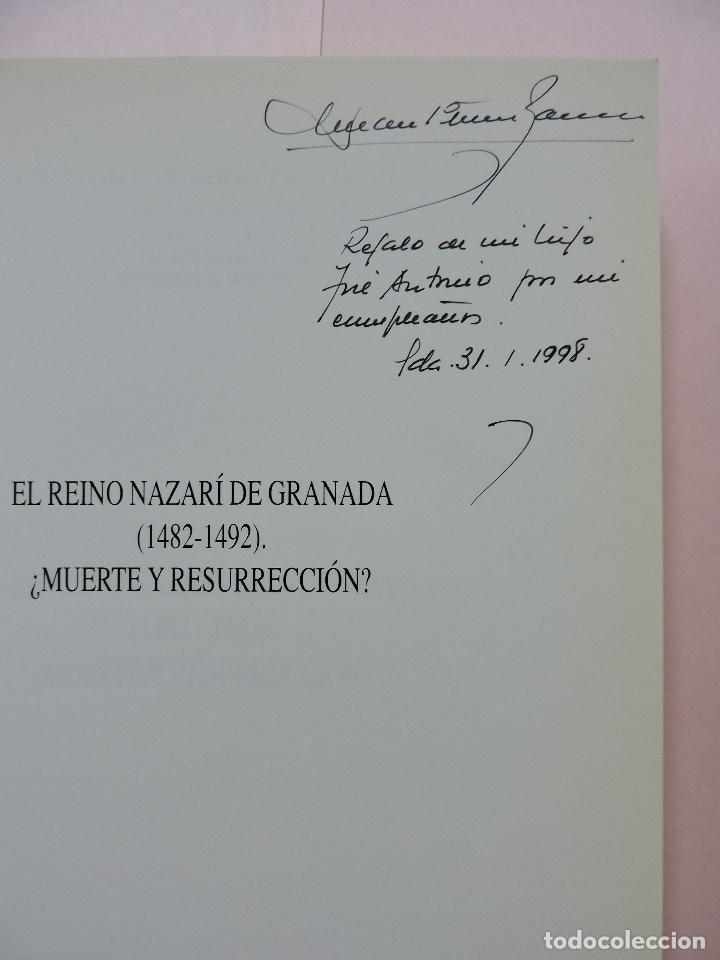 Libros de segunda mano: El Reino Nazarí de Granada (1482-1492) ¿Muerte y Resurrección? TORRES DELGADO, Cristóbal. 1997 - Foto 2 - 288156998