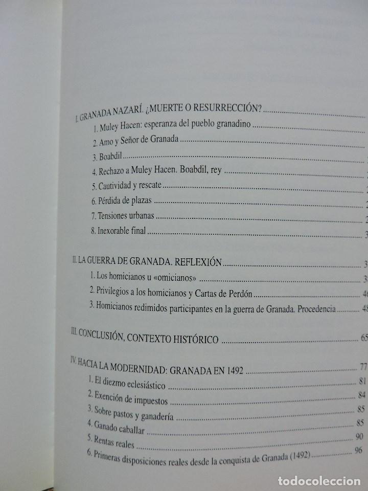 Libros de segunda mano: El Reino Nazarí de Granada (1482-1492) ¿Muerte y Resurrección? TORRES DELGADO, Cristóbal. 1997 - Foto 4 - 288156998