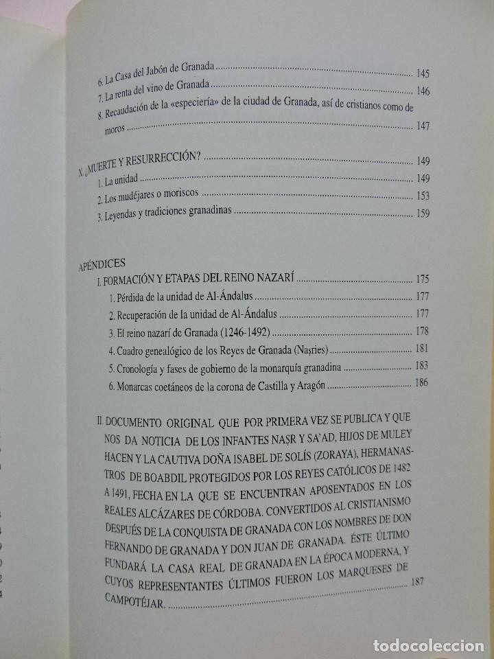 Libros de segunda mano: El Reino Nazarí de Granada (1482-1492) ¿Muerte y Resurrección? TORRES DELGADO, Cristóbal. 1997 - Foto 6 - 288156998