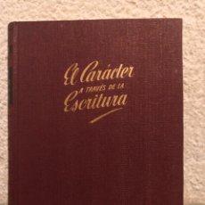 Libros de segunda mano: EL CARÁCTER DE LA ESCRITURA EDI. BRUGUERA. Lote 288158798