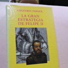 Libros de segunda mano: LA GRAN ESTRATEGIA DE FELIPE II. PARKER, GEOFFREY. HISTORIA Y GEOGRAFÍA ALIANZA EDITORIAL 1998. Lote 288159123