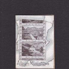 Libros de segunda mano: ALCOY - ALBUM MINIATURA - 10 VISTAS - PAPELERIA LA ANTIGUA. Lote 288163908