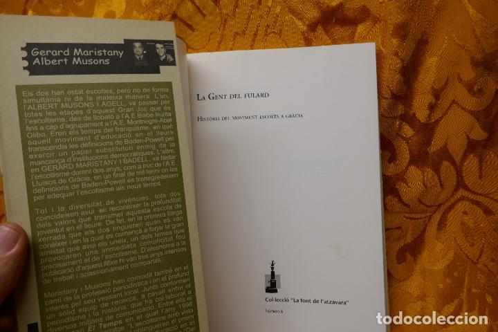 Libros de segunda mano: LA FONT DE LATZAVARA nº 6 La font de latzavara La gent del fulard història del moviment escolta - Foto 5 - 288303483