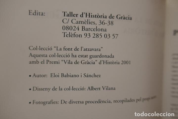 Libros de segunda mano: LA FONT DE LATZAVARA nº 8 - DE LERMITA DE LA SALUT AL PARK GÜELL. 140 anys dhistòria, BABIANO - Foto 5 - 288303633