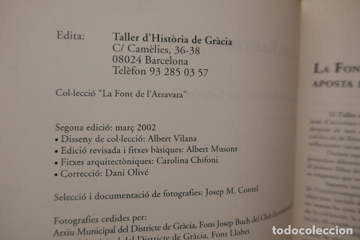 Libros de segunda mano: SOMNIS DE REESTRENA - HISTÒRIA DELS CINEMES DE GRÀCIA, JORDI TORRAS - Foto 5 - 288303823
