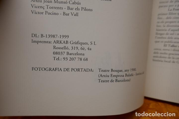 Libros de segunda mano: SOMNIS DE REESTRENA - HISTÒRIA DELS CINEMES DE GRÀCIA, JORDI TORRAS - Foto 7 - 288303823