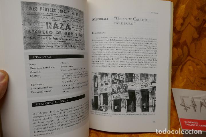 Libros de segunda mano: SOMNIS DE REESTRENA - HISTÒRIA DELS CINEMES DE GRÀCIA, JORDI TORRAS - Foto 10 - 288303823