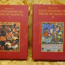Libros de segunda mano: ELS FUNDADORS DEL REGNE DE VALÈNCIA. REPOBLAMENT, ANTROPONÍMIA I LLENGUA A LA VALÈNCIA MEDIEVAL. 2 V. Lote 288304203