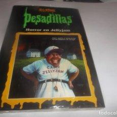 Libros de segunda mano: PESADILLAS - R.L.STINE - HORROR EN JELLYJAM -- PRECINTADO. Lote 288380098