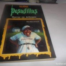 Libros de segunda mano: PESADILLAS - R.L.STINE - HORROR EN JELLYJAM -- BUEN ESTADO. Lote 288380383