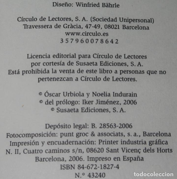 Libros de segunda mano: Vampiros - El mito de los no muertos - Noelia Indurain y Oscar Urbiola - Círculo de lectores (2006) - Foto 2 - 288398178
