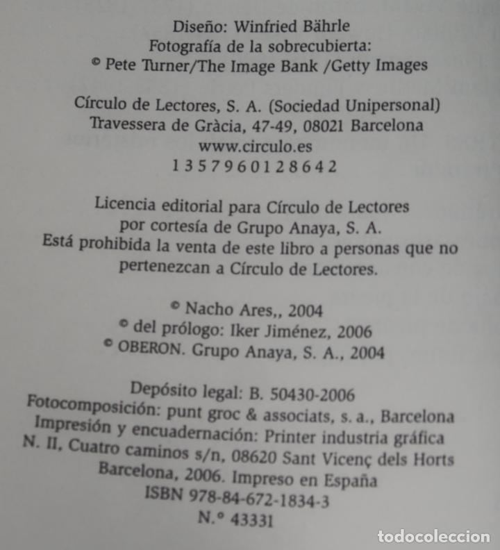 Libros de segunda mano: El enigma de la gran pirámide - Nacho Ares - Círculo de lectores (2006) - Foto 2 - 288398448