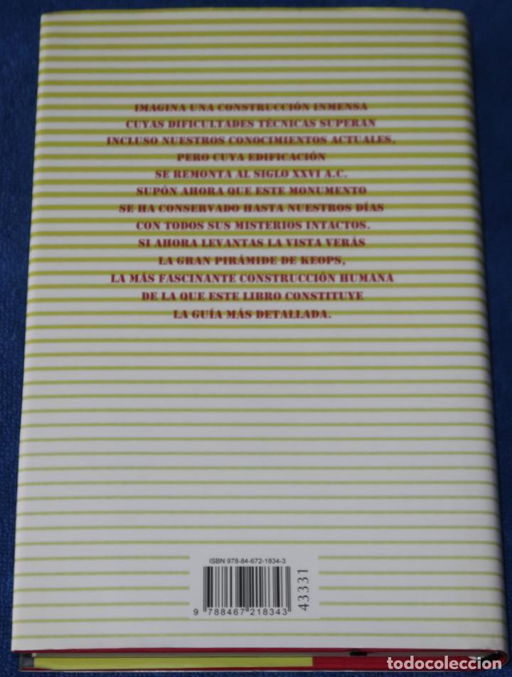 Libros de segunda mano: El enigma de la gran pirámide - Nacho Ares - Círculo de lectores (2006) - Foto 3 - 288398448